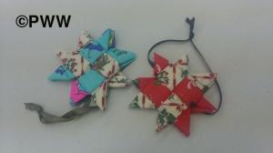 Jo's fabric stars