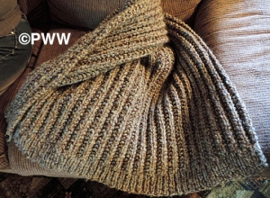 Andrea's Knit Shawl